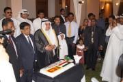 العيد الوطني الكويتي  في جمهورية سريلانكا 2014