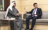 زيارة السفير عبدالقادر محمدي ديوان عبداللطيف يوسف العتيقي