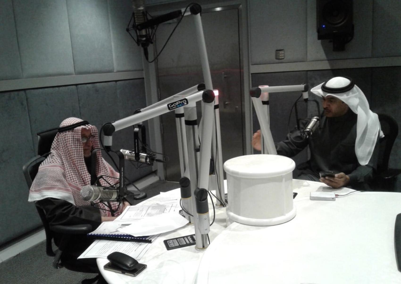 استضافة الاعلامي أ. بسام الجزاف الشيخ عبداللطيف سيف العتيقي