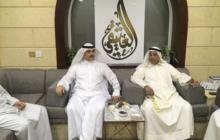 زيارة د. جمال منصور الحربي وزير الصحة الأسبق ديوان عبداللطيف العتيقي