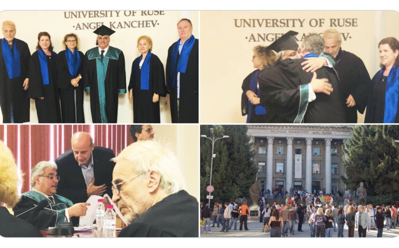 حصول سعادة السفير د. يعقوب يوسف العتيقي على درجة الدكتوراة