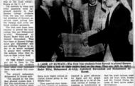 مقابلة منشورة بصحيفة لونق أيلاند ستار مع أول دفعة طلبة من الكويت تلتحق بجامعة كوينز كوليدج الأمريكية سنة ١٩٥٩م